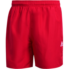 adidas Solid CLX Short Length Shorts Men, team colleg red/white